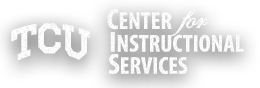 TCU Center for Instructional Services